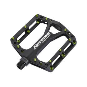 Reverse Black One Pedals green/black